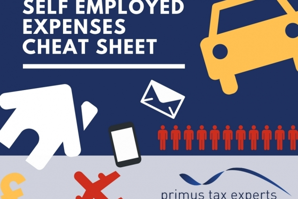 Self Employed Expenses Cheat Sheet Primus Tax